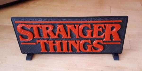 Logo série Stranger Things
