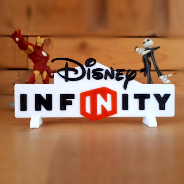 Logo Disney Infinity en 3D